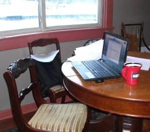 my writing retreat