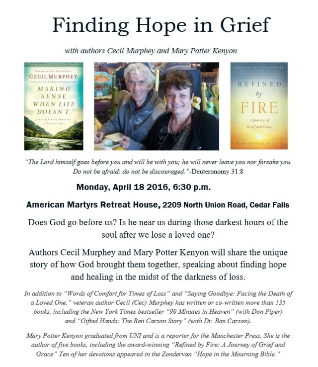 Cec and Me grief poster