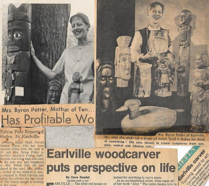 mom woodcarver