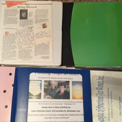 binders of writing