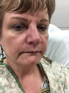 mary at hospital