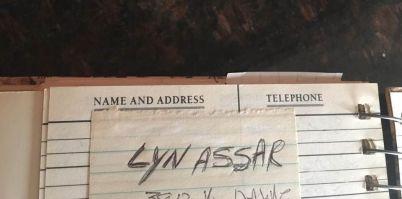 Mom's address book address